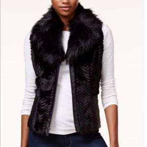 Guess Sleeveless gabby vest.